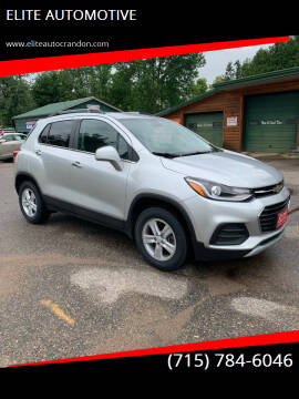 2017 Chevrolet Trax for sale at ELITE AUTOMOTIVE in Crandon WI