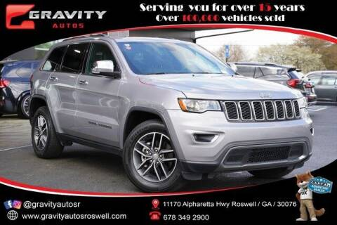 2018 Jeep Grand Cherokee for sale at Gravity Autos Roswell in Roswell GA