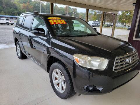 2009 Toyota Highlander for sale at COOPER AUTO SALES in Oneida TN