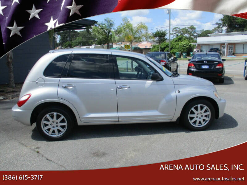2007 Chrysler PT Cruiser for sale at ARENA AUTO SALES,  INC. in Holly Hill FL
