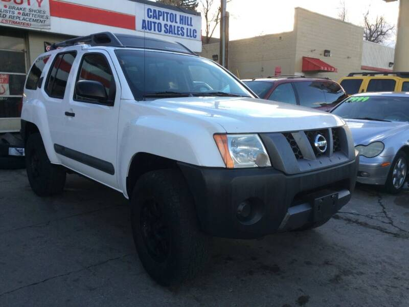 2006 Nissan Xterra for sale at Capitol Hill Auto Sales LLC in Denver CO