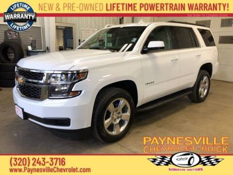 2015 Chevrolet Tahoe for sale at Paynesville Chevrolet - Buick in Paynesville MN