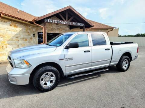 2013 RAM Ram Pickup 1500 for sale at Performance Motors Killeen Second Chance in Killeen TX