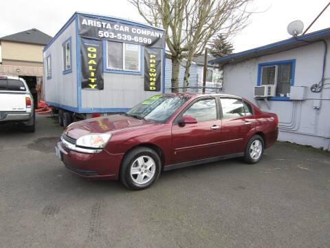 2004 Chevrolet Malibu for sale at ARISTA CAR COMPANY LLC in Portland OR