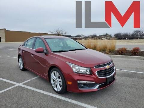 2015 Chevrolet Cruze for sale at INDY LUXURY MOTORSPORTS in Fishers IN