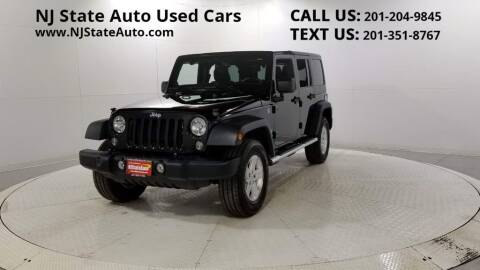 2014 Jeep Wrangler Unlimited for sale at NJ State Auto Auction in Jersey City NJ