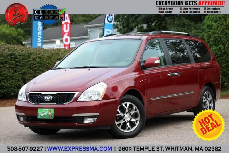 2014 Kia Sedona for sale at Auto Sales Express in Whitman MA