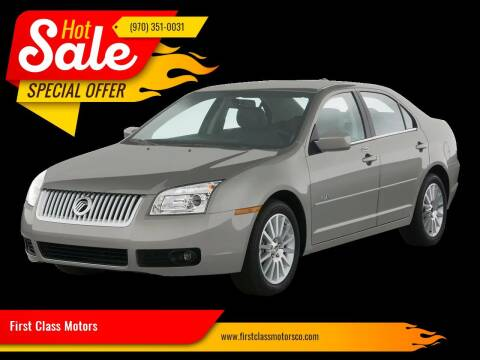 2008 Mercury Milan for sale at First Class Motors in Greeley CO