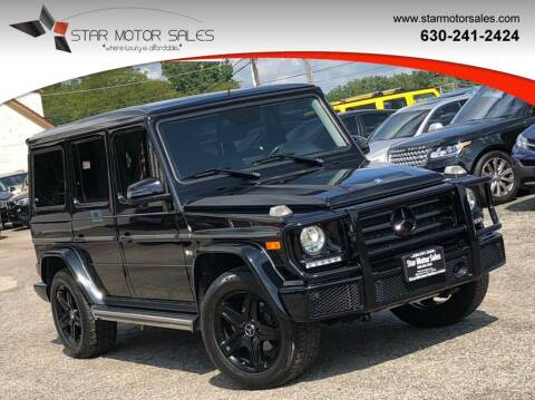 2016 Mercedes-Benz G-Class for sale at Star Motor Sales in Downers Grove IL