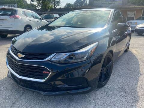 2018 Chevrolet Cruze for sale at Lion Auto Finance in Houston TX