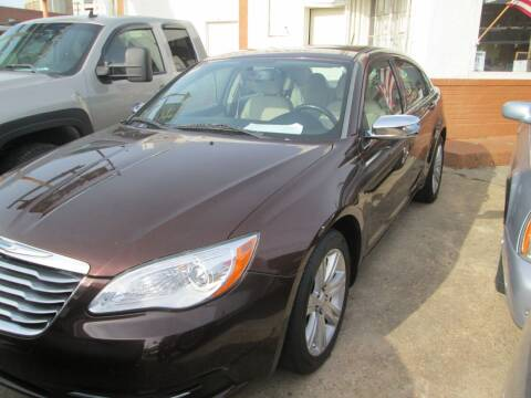 2012 Chrysler 200 for sale at Downtown Motors in Macon GA