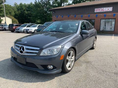 2010 Mercedes-Benz C-Class for sale at Official Auto Sales in Plaistow NH