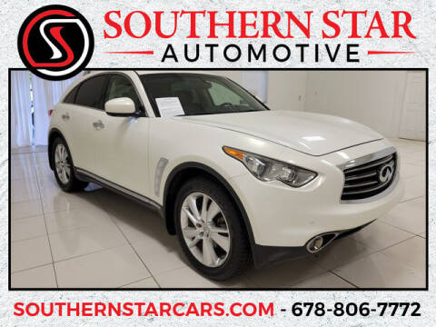 2013 Infiniti FX37 for sale at Southern Star Automotive, Inc. in Duluth GA