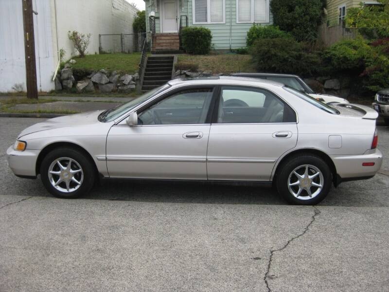 1997 Honda Accord for sale at UNIVERSITY MOTORSPORTS in Seattle WA