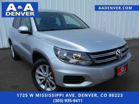 2014 Volkswagen Tiguan for sale at A & A AUTO LLC in Denver CO