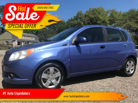2009 Chevrolet Aveo for sale at #1 Auto Liquidators in Yulee FL