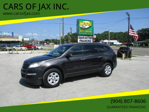 2016 Chevrolet Traverse for sale at CARS OF JAX INC. in Jacksonville FL