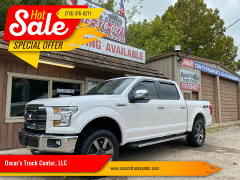 2015 Ford F-150 for sale at Oscar's Truck Center, LLC in Houston TX
