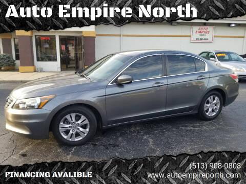 2012 Honda Accord for sale at Auto Empire North in Cincinnati OH