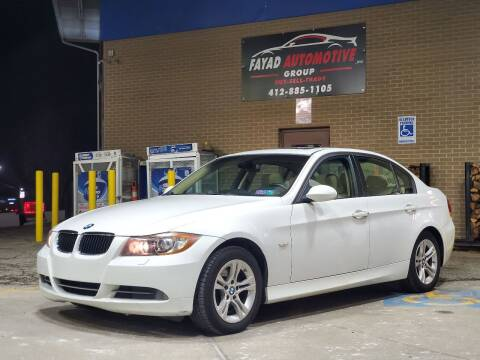 2008 BMW 3 Series for sale at FAYAD AUTOMOTIVE GROUP in Pittsburgh PA