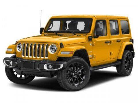 2021 Jeep Wrangler 4xe for sale at SCOTT EVANS CHRYSLER DODGE in Carrollton GA