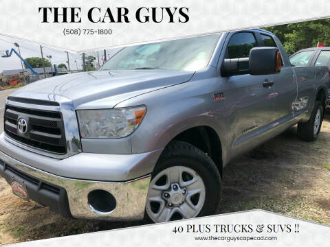 2012 Toyota Tundra for sale at The Car Guys in Hyannis MA