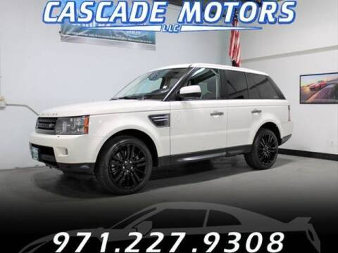 2010 Land Rover Range Rover Sport for sale at Cascade Motors in Portland OR