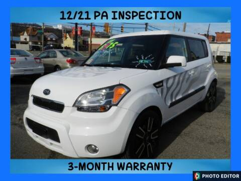 2011 Kia Soul for sale at 2010 Auto Sales in Glassport PA