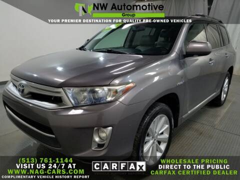 2011 Toyota Highlander Hybrid for sale at NW Automotive Group in Cincinnati OH