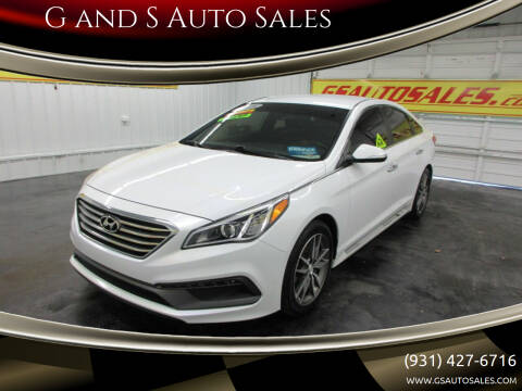 2015 Hyundai Sonata for sale at G and S Auto Sales in Ardmore TN