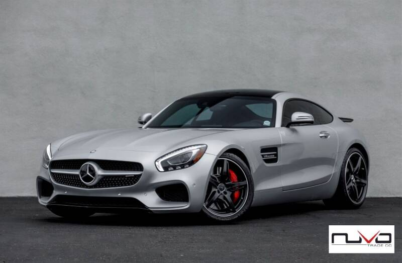 2017 Mercedes-Benz AMG GT for sale at Nuvo Trade in Newport Beach CA