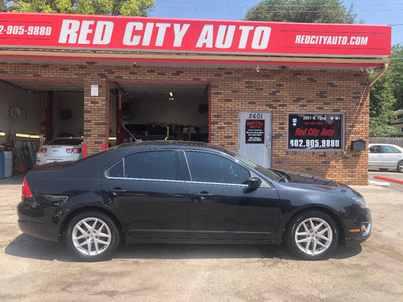 2010 Ford Fusion for sale at Red City  Auto in Omaha NE