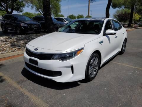 2019 Kia Optima Plug-In Hybrid for sale at Matador Motors in Sacramento CA
