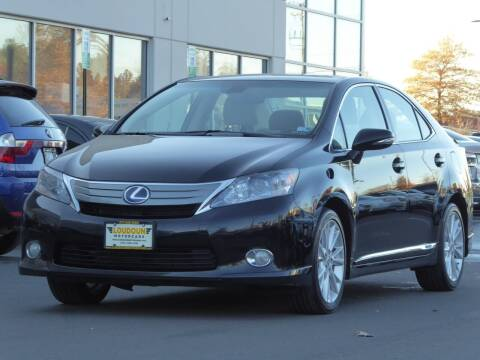 2010 Lexus HS 250h for sale at Loudoun Used Cars - LOUDOUN MOTOR CARS in Chantilly VA