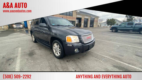2006 GMC Envoy for sale at A&A AUTO in Fairhaven MA