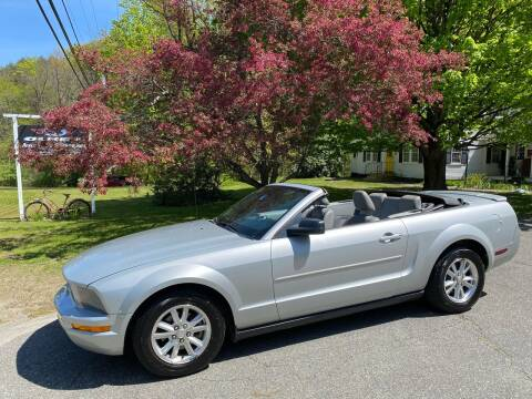 2008 Ford Mustang for sale at Olney Auto Sales in Springfield VT