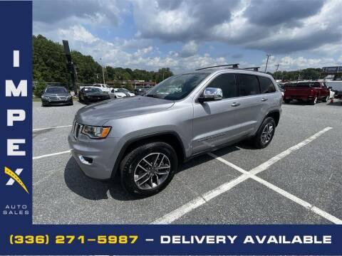 2019 Jeep Grand Cherokee for sale at Impex Auto Sales in Greensboro NC