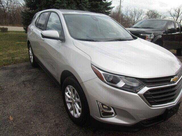 2021 Chevrolet Equinox for sale at VALERI AUTOMOTIVE in Winthrop Harbor IL