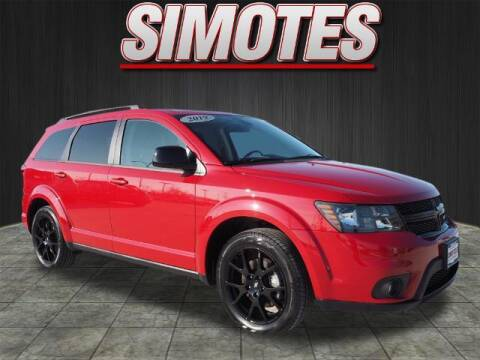 2019 Dodge Journey for sale at SIMOTES MOTORS in Minooka IL