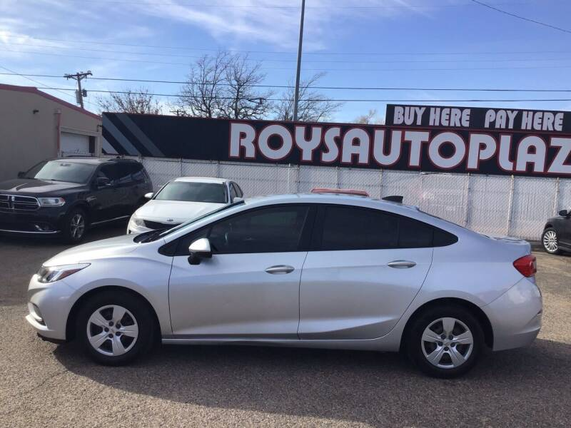 2017 Chevrolet Cruze for sale at Roy's Auto Plaza 2 in Amarillo TX