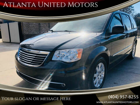 2013 Chrysler Town and Country for sale at Atlanta United Motors in Buford GA