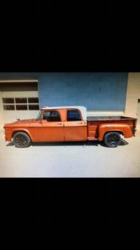 1970 Dodge D200 Pickup for sale at Classic Car Deals in Cadillac MI