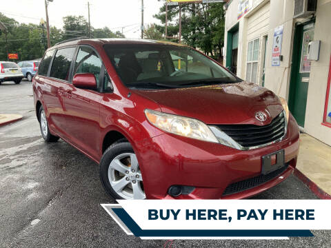 2012 Toyota Sienna for sale at Automan Auto Sales, LLC in Norcross GA