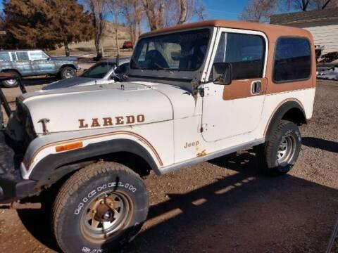 1981 Jeep CJ-7 for sale at Classic Car Deals in Cadillac MI