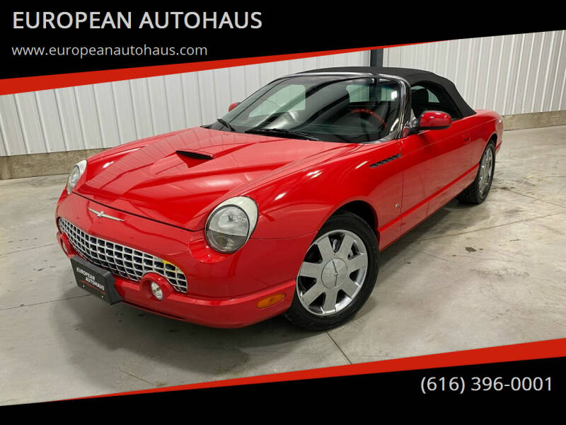 2003 Ford Thunderbird for sale at EUROPEAN AUTOHAUS in Holland MI