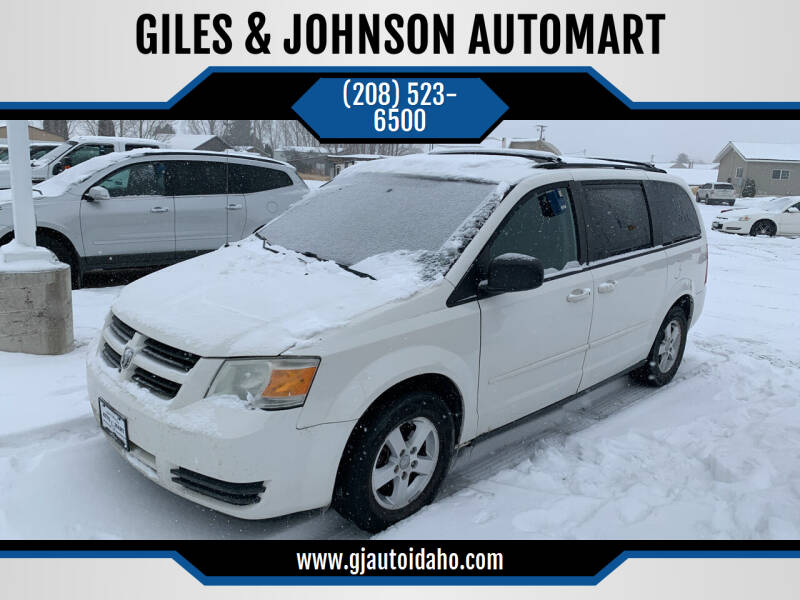 2009 Dodge Grand Caravan for sale at GILES & JOHNSON AUTOMART in Idaho Falls ID