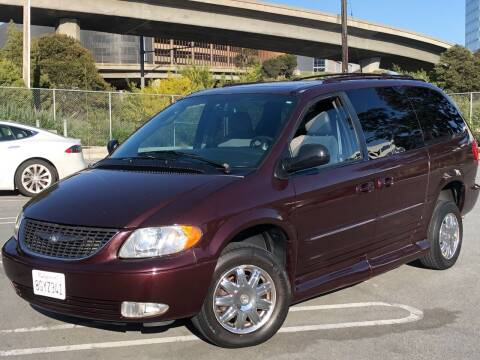 2004 Chrysler Town and Country for sale at CITY MOTOR SALES in San Francisco CA