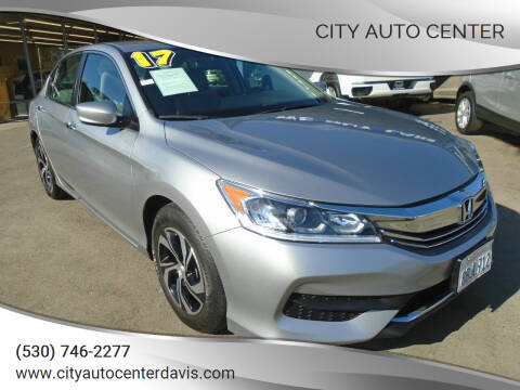 2017 Honda Accord for sale at City Auto Center in Davis CA