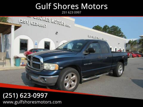 2005 Dodge Ram Pickup 1500 for sale at Gulf Shores Motors in Gulf Shores AL