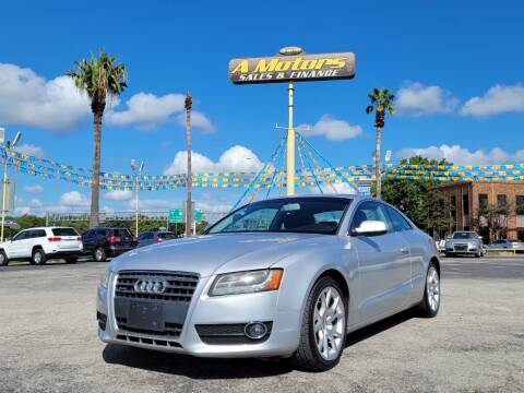2012 Audi A5 for sale at A MOTORS SALES AND FINANCE in San Antonio TX